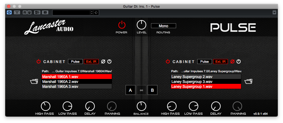 lancaster audio plugin screenshot