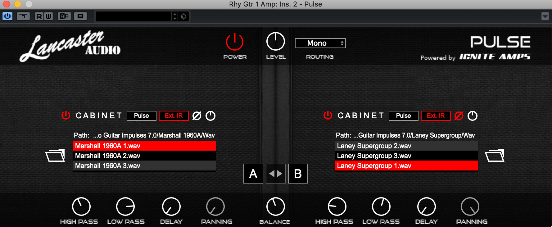 Pulse Free Impulse Response Loader