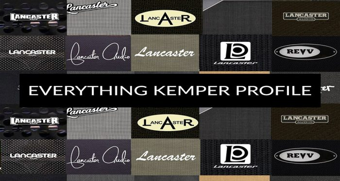 The Everything Kemper profile bundle